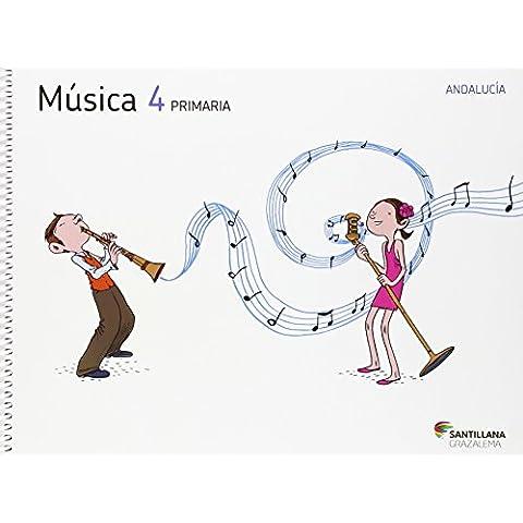 MUSICA + CD AUDICIONES 4 PRIMARIA