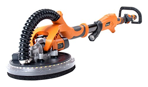 evolution-r225dws-225-mm-telescopic-dry-wall-sander-with-led-torch-and-6-sanding-sheets-orange-black