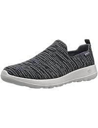 Inception Pro Infinite®-(Größe 43 Geeignet für 25 Fuß 5 cm Lang) Männer Sport Schuhe ohne Schnürsenkel schwarz-LY-177