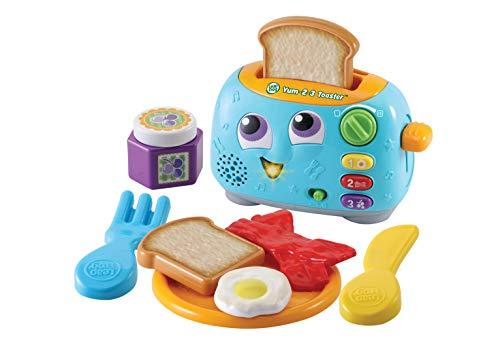 LeapFrog 609803 Yum-2-3 Toaster, Mehrfarbig