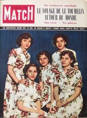 PARIS MATCH [No 174] du 12/07/1952 - ALPINISME ARMEE BALS - GALAS CYCLISME - TOUR DE France ELECTRICITE ETATS UNIS D'AMERIQUE - MARINE DE COMMERCE FAMILLE ROTHSCHILD GUERRE D'INDOCHINE ET POLITIQUE EN INDOCHINE LE GENERAL DE GAULLE LES CINQ DIONNE MARINE MARCHANDE NAVIGATEURS PARTI POLITIQUE R.P.F. POLITIQUE EXTERIEURE DES ETATS UNIS D'AMERIQUE SPORT HIPPIQUE TENNIS TRANSATLANTIQUES TRAVAUX HYDRAULIQUES YVES LE TOUMELIN YVETTE CHAUVIRE par COLLECTIF