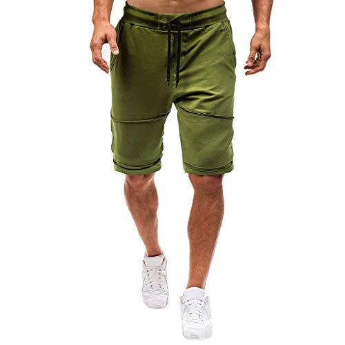 Pantalones Cortos Hombre Verano Cargo Shorts Chinos