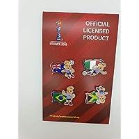 FIFA Women's World Cup France 2019™ Pin Set Nations Group C Adulti Unisex Replica Taglia Unica