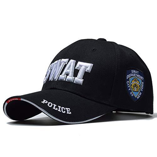 FXSYL Baseballmütze Neue Polizei Herren Cap swat Baseball Cap männer Gorras para Hombre Frauen Snapback Knochen Masculino Armee Cap Brief