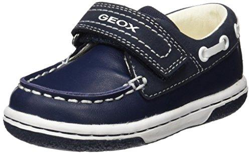 Geox Baby Jungen B Flick Boy C Lauflernschuhe, Blau (Navy/whitec4211), 27 EU