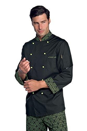 Isacco Giacca Cuoco Bicolore - Isacco Maori 94, Maori 94, M, 65% Poliestere 35% Cotone