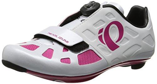 Pearl Izumi Elite RD IV Damen Rennrad Fahrrad Schuhe weiß/pink 2016: Größe: 38