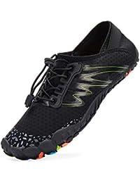 LeKuni Zapatillas Hombre Descalzo Zapatos Agua Zapatos Nadar Zapatos Zapatos de Playa Zapatos para Agua Zapatos