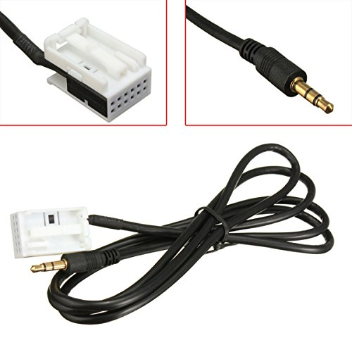 AUX In Cable for Peugeot/Citroen Car Radio RD4 12-Pin - Buy