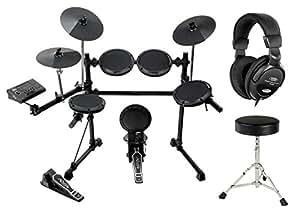 XDrum DD-505+ E-Drum Komplettset inkl. Hocker + Kopfhörer