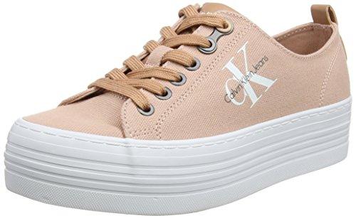 Calvin Klein Jeans Zolah Canvas, Sneakers Basses Femme