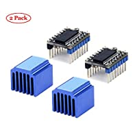 Jolicobo 3D Printer Stepper Motor Driver LV8729 4-Layer Substrate Ultra Quiet Driver Support with Heatsink
