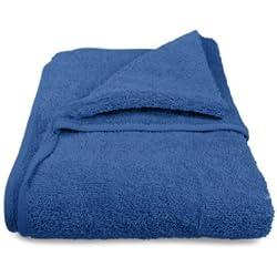 Schonbezug mit Kapuze aus dem Hause Dyckhoff - erhältlich in 7 sommerlichen Farben für Gartenstuhl oder Gartenliege, Gartenliege, blau