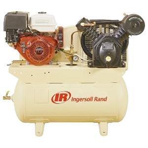 13HP AIR COMPRESSOR 30 GAL HORIZONTAL TANK by Ingersoll-Rand