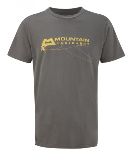 Mountain Equipment Groundup Free Spirit Tee - Kletter-T-Shirt Herren, Farbe:Shadow Grey;Größe:XL