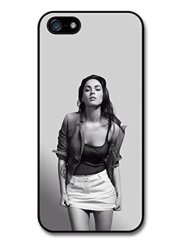 Megan Fox Black & White Portrait Actress hülle für iPhone 5 5S