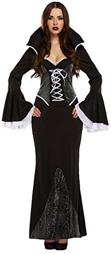 sexy-da-donna-lunghezza-piena-nero-ragno-vampiro-costume-halloween-outfit