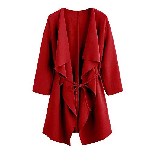 Internet Damen Kausales offenes Sweatshirt Langer Mantel Jacke Fashion Outwear - Aang Avatar Kostüm