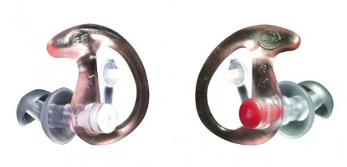 Surefire Tappi per orecchie Sonic, Rosa (klar/rosa), L