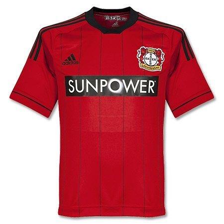 adidas Erwachsene Trikots Bayer Leverkusen Home, Lgtsca/Black, XXXL, Z75126