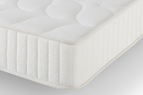 Orthopädische Schlafzimmer Eliocel Matratze, Weiß, 135 x 190 x 24 cm (Alle Maße)