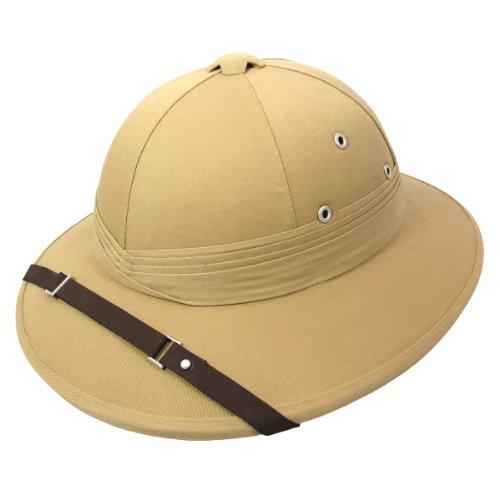 Village Hats Französischer Tropenhelm - Khaki - L/XL
