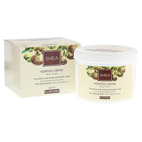 Plantana Shea Butter Körpercreme, 500 ml (Shea-butter Haut Creme)