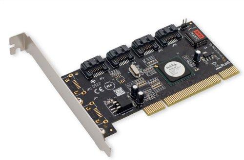 SYBA - Controlador PCI-RAID (4 puertos SATA-I/II)