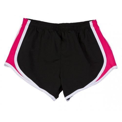 Boxercraft - Short de sport respirant - Femme Noir/Fuchsia