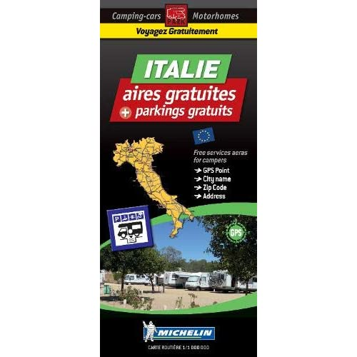 Aires de camping-car gratuites Italie