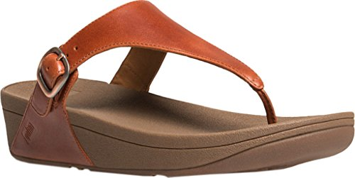 FitFlop - The Skinny Tm Urban, Infradito Donna Marrone