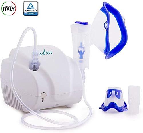 Nuvita 5022 aerosol portatile per bambini ed adulti estremamente silenzioso - prodotto in italia - certificato tuv