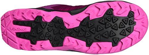 Viking Dis Boa GTX W, Scarpe da Arrampicata Donna Pink (Dark Pink/Magenta)