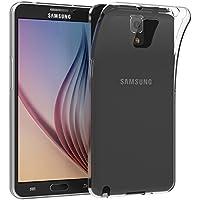 JETech 0564-CS-CLEAR-NOTE3 Funda Transparente funda para teléfono móvil - Fundas para teléfonos móviles (Funda, Samsung, Galaxy Note 3, Transparente)
