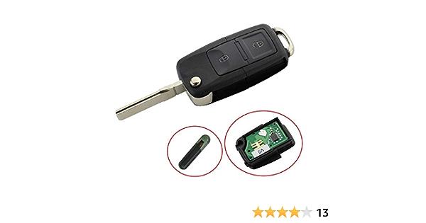 Klappschlüssel Schlüssel Gehäuse Mit 2 Tasten Rohling Elektronik