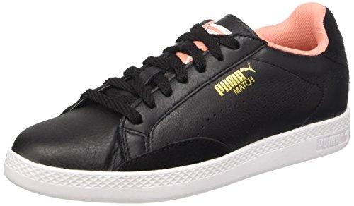 Puma Match Lo Basic Sp, Baskets Basses Femme Noir (Black/Desert Flower)