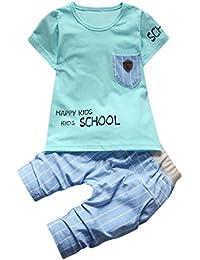 6ca82b980 Camisa Bebé Niño K-youth® Conjunto Bebe Niño Ropa Recién Nacidos Bebe Niño  Ropa