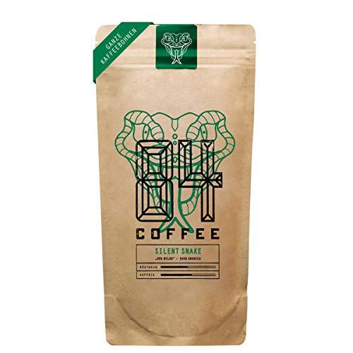 84 Coffee - Vietnamesischer Premium Kaffee - Silent Snake - Hell geröstet - 100% Arabica -fairer & direkter Handel - frisch & schonend geröstet - Kaffeebohnen (500g)