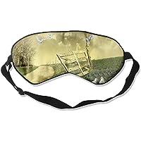 Eye Mask Eyeshade Doves Green Grass Sleeping Mask Blindfold Eyepatch Adjustable Head Strap preisvergleich bei billige-tabletten.eu