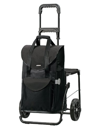 Andersen Komfort Shopper Senta Schwarz 9828-8