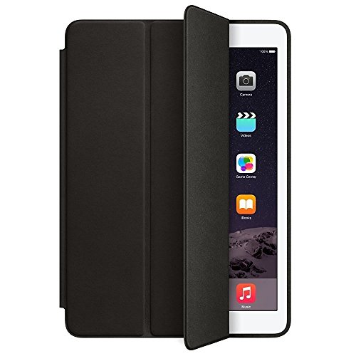 Generic Ultra Thin Premium Smart & Foldable Leather Flip Case with Magnetic Sensor Auto Wake/Sleep Function For iPad Air 1