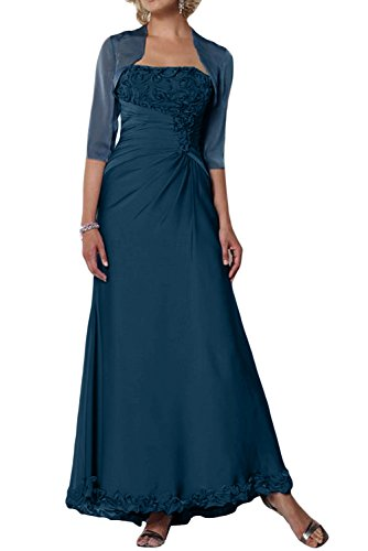TOSKANA BRAUT -  Vestito  - linea ad a - Donna Tinte Blau