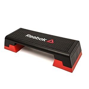 Reebok Step Steppbrett Schwarz/Rot, 102 x 38.5 x 25