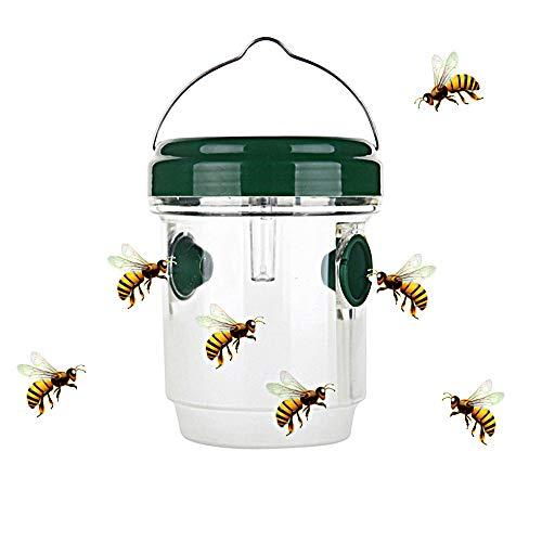 Modenny Plástico de suspensión de Vuelo al Aire Libre LED/colector de la Trampa de la Abeja Que cuelga en la Herramienta de Control de Insectos no tóxica del árbol