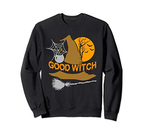 Kostüm Hausgemachte Gute - Gute Hexe Nettes Halloween Sweatshirt