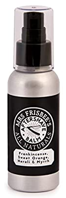 Mrs Frisbee's All Naturals Aftershave Balm with Frankincense, Sweet Orange, Neroli and Myrrh
