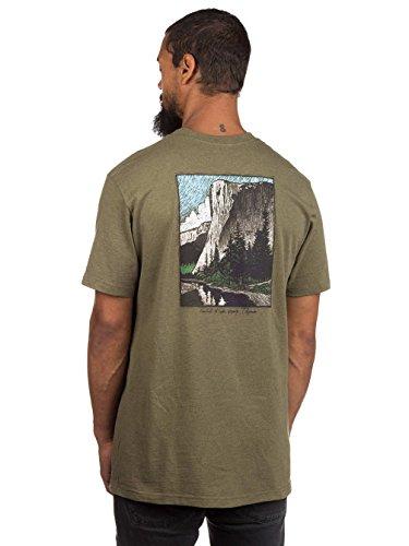 Herren T-Shirt Patagonia El Cap Classic Responsibili T-Shirt gorge green