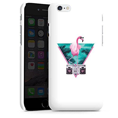 Apple iPhone X Silikon Hülle Case Schutzhülle Flamingo Dreieck Disco Premium Case matt