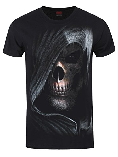 Spiral T-Shirt Darkness da uomo in nero