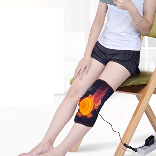 JJDD\'S Ginocchiera Termica elettrica con Calore e Vibrazione Massaggi 3 Livelli di Temperatura per Alleviare Il Dolore Articolare Ginocchio Regalo